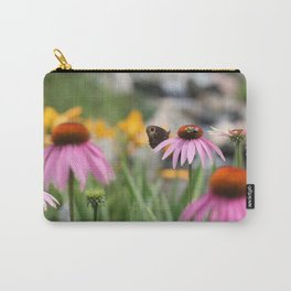 Butterfly and the Bee Carry-All Pouch