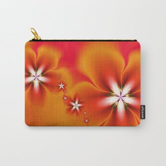 Fleur d'Automne Fractal Carry-All Pouch