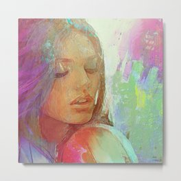 Bewitch of my love for you Metal Print