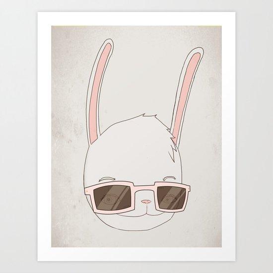 빠숑토끼 fashiong tokki Art Print