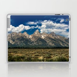 The Grand Tetons - Summer Mountains Laptop & iPad Skin