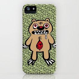 ZOMBEAR iPhone Case