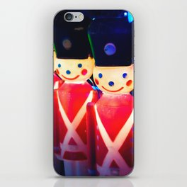Wipe That Grin Off Your Face Soldier! iPhone Skin