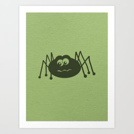 Cute Creepy Crawler Art Print