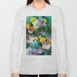 Succulent World Long Sleeve T-shirt