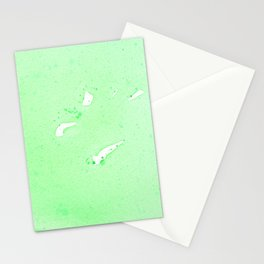 Green Meanie Stationery Cards