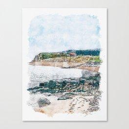 Caldey Island, Wales Canvas Print