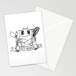 Boss Baker Stationery Cards