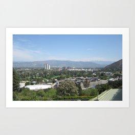 Universal City Art Print