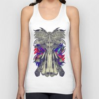 phoenix Tank Tops featuring PHOENIX by Galvanise The Dog