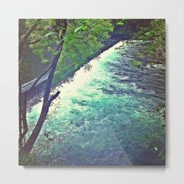 Mystical River Metal Print