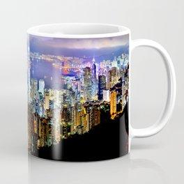 Hong Kong City Skyline Coffee Mug