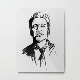 Robert Downey Jr Metal Print