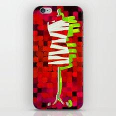Dummy Run #1, red iPhone & iPod Skin