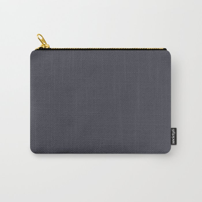 Blue Ocean Abstract ~ Slate Carry-All Pouch