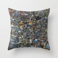 eternal sunshine Throw Pillows featuring Eternal Sunshine of the Spotless Mind by Fernando Vieira