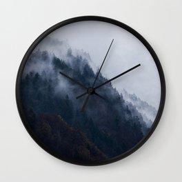 Berchtesgaden Hillside Wall Clock