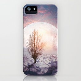 Hypnotized by the Moon iPhone Case
