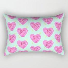 Treat Yo' Self Rectangular Pillow