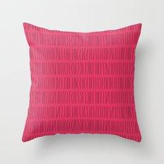 Vertical Lines Pattern Throw Pillow