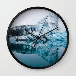 Jökulsárlón Glacial Lagoon Wall Clock