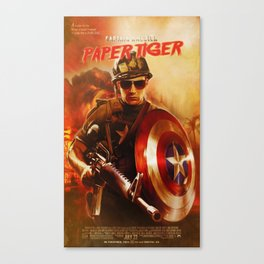 PAPER TIGER Canvas Print