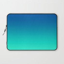 Teal Mint Ombre Laptop Sleeve