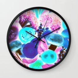 Deep Colors Wall Clock