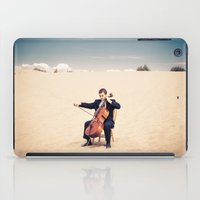 cello iPad Cases featuring Desert Cello by diane555