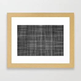 Ambient 31 - digital weave Framed Art Print