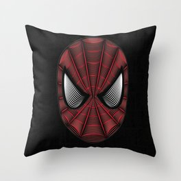 Spider Man Line Art By Kaydesign Throw Pillow