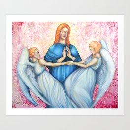 Magdalene, saint Mary Magdalene, Renaissance Art Print