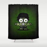 hulk Shower Curtains featuring Hulk by Thorin