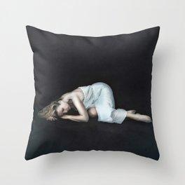 Captured sense Throw Pillow