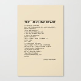 The Laughing Heart Canvas Print