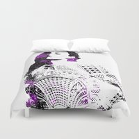 hair Duvet Covers featuring Hair by fashionistheonlycure