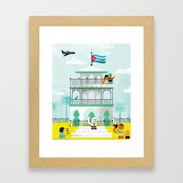 Viva Cuba! Framed Art Print