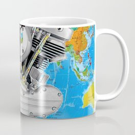 For God So Loved the World...Biker Ministry. Coffee Mug