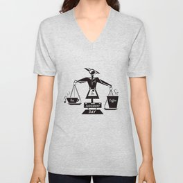 Tea or Coffee  Unisex V-Neck