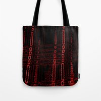 plaid Tote Bags featuring plaid by 2sweet4words Designs