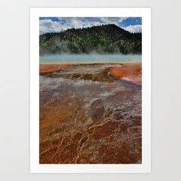 Scalding Lake Art Print