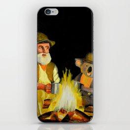 The Swagman and the Koala iPhone Skin