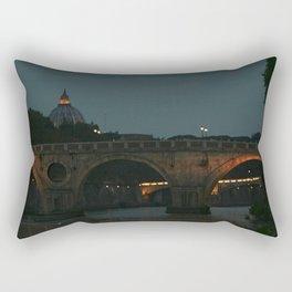 Bridges of Rome in the Evening Rectangular Pillow