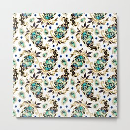 Paisley obsessions Metal Print
