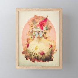 Lady Silence Framed Mini Art Print