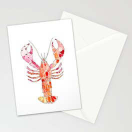 Lobster Stationery Cards