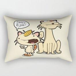 Pokémon - Number 52 & 53 Rectangular Pillow