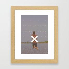 XR Framed Art Print