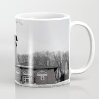 poland Mugs featuring Poland Springs Museum by Catherine1970