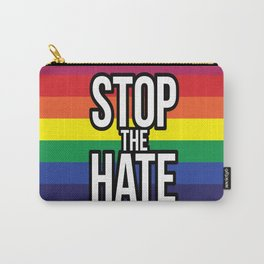 Stop the Hate! Carry-All Pouch